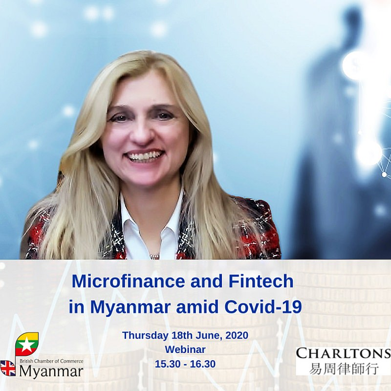 British Chamber of Commerce in Myanmar Webinar: Microfinance and Fintech in Myanmar amid COVID-19