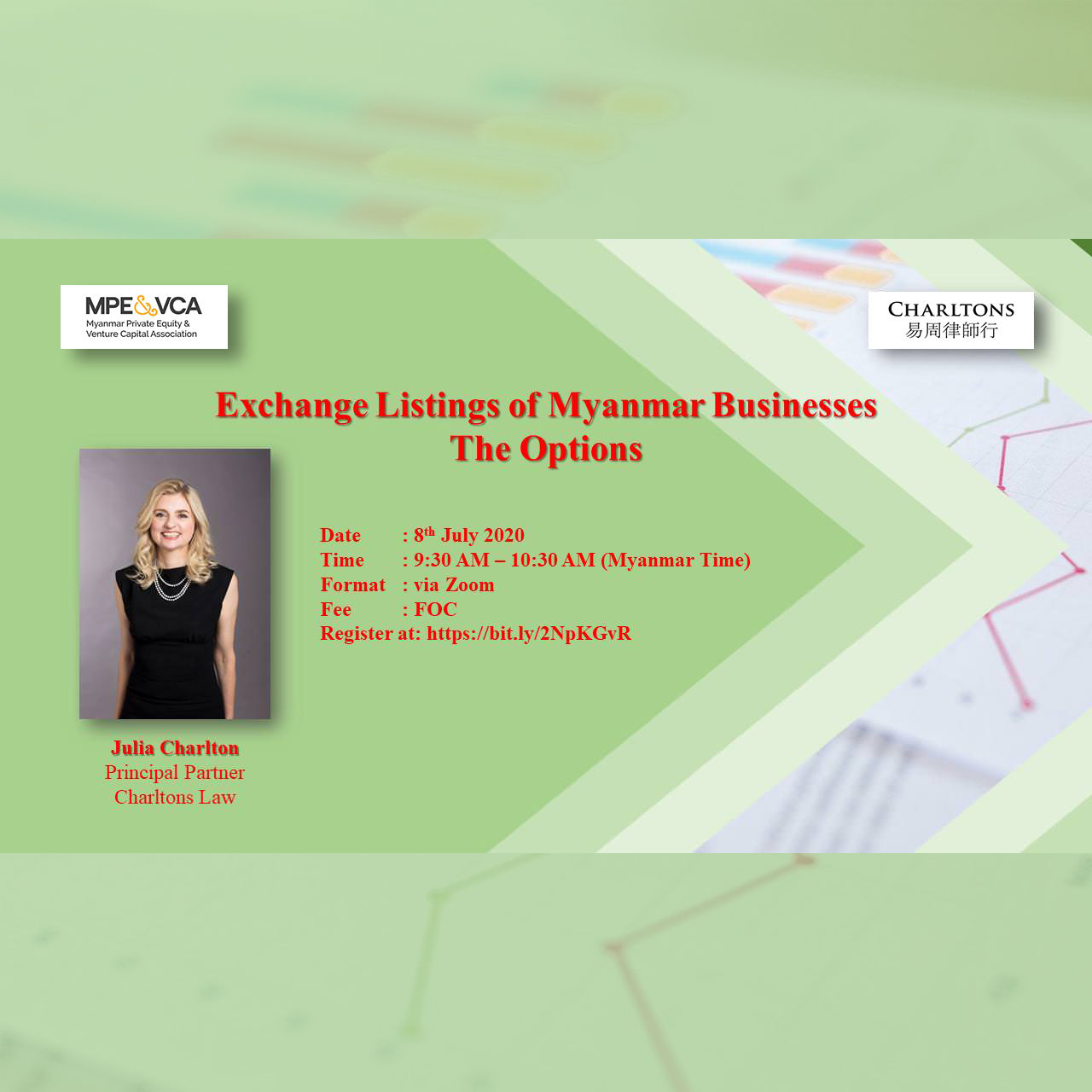 Webinar: Exchange Listings of Myanmar Businesses – the Options