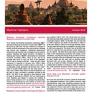 Myanmar Investment Commission launches Myanmar Investment Promotion Plan