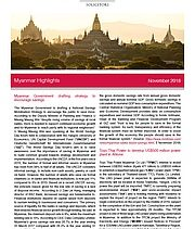 Myanmar Government drafting strategy to encourage savings